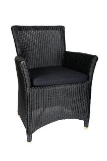 Lloyd loom eetkamerstoel 3504 sm design voor de scherpste for Kussens voor op stoelen