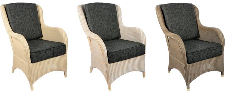 Lloyd loom fauteuil Exeter