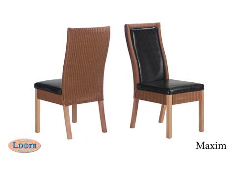 Loom furniture lloyd loom eetkamerstoelen van loom for Loom stoelen