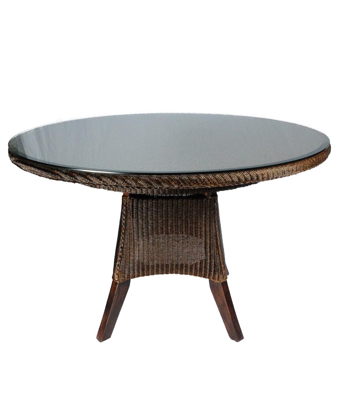 Lloyd loom tafel Purple Starling