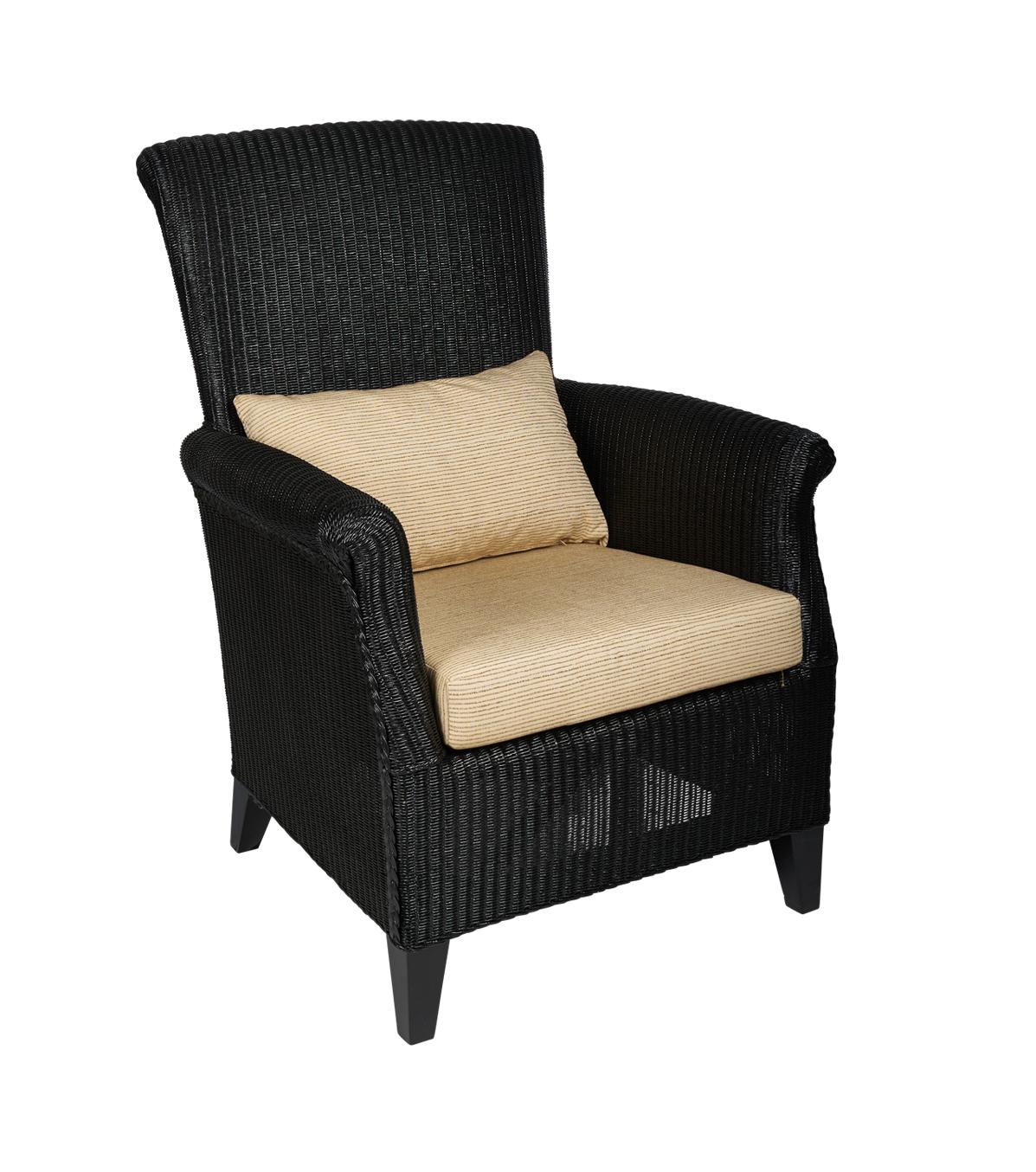 Lloyd loom fauteuil Porto