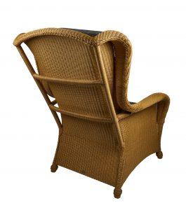 Lloyd loom fauteuil King Chair naturel