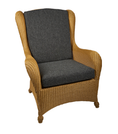 Lloyd loom fauteuil King Chair