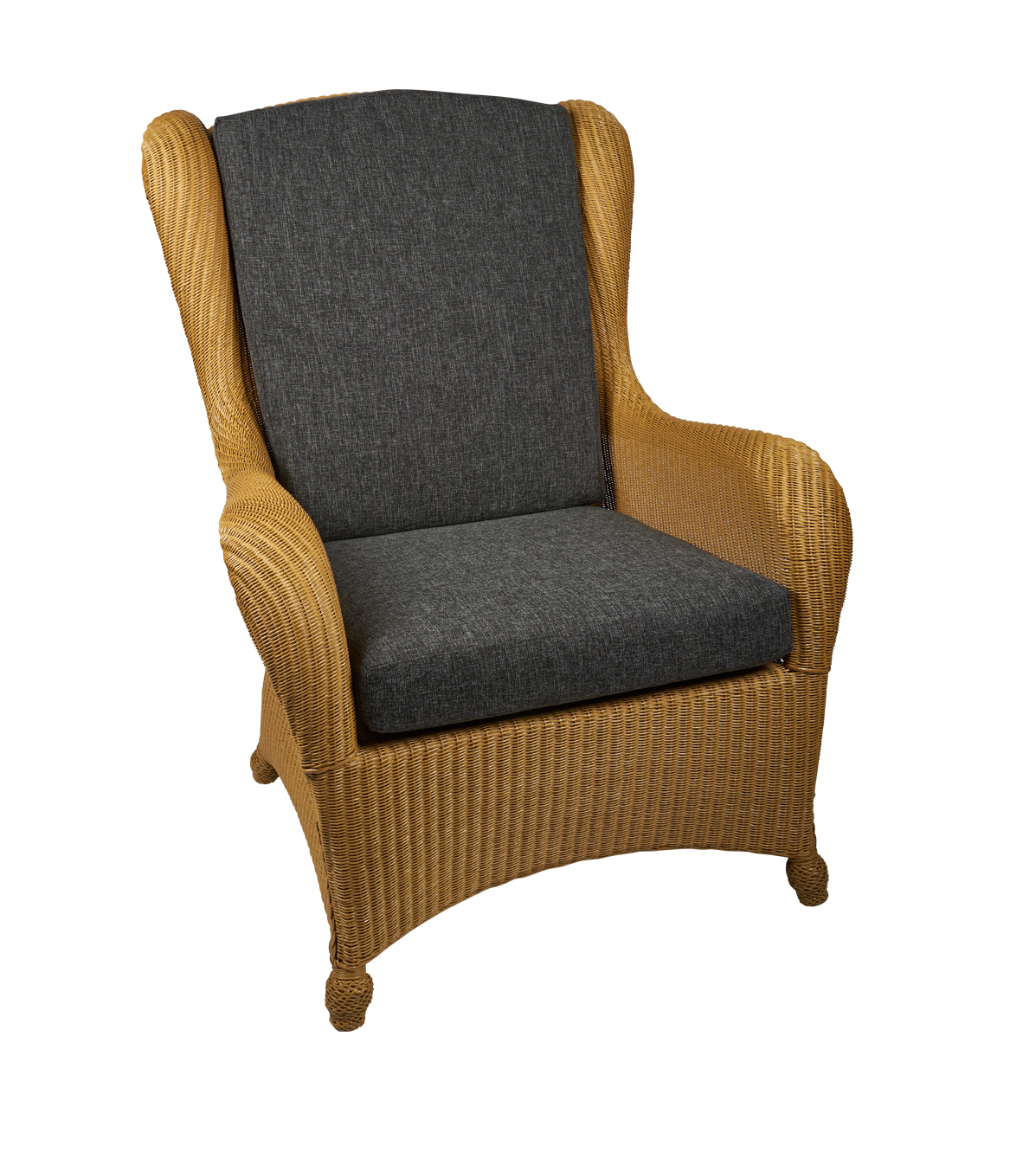 Lloyd loom King Chair Naturel