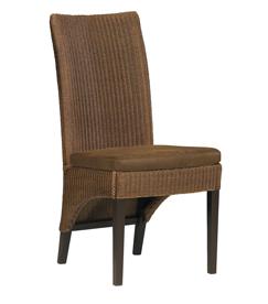 Lloyd loom eetkamerstoel Capril super stoel