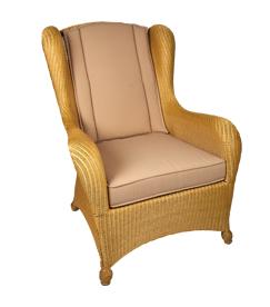 Lloyd loom fauteuil Hull naturel