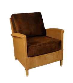 Lloyd loom fauteuil Triesta naturel