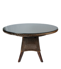 Tafel van Lloyd loom Purple Starling