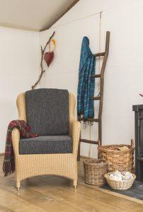 lloyd loom fauteuil Exeter naturel