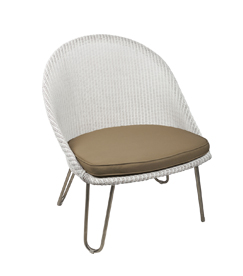 Lloyd loom fauteuil Bristol Thrump