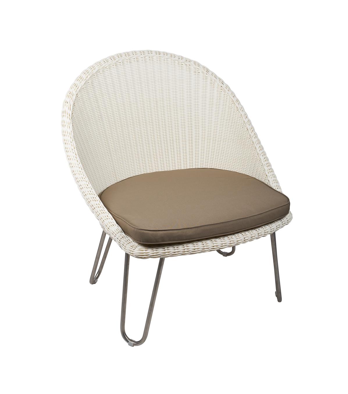 Kunststof loom fauteuil Bristol