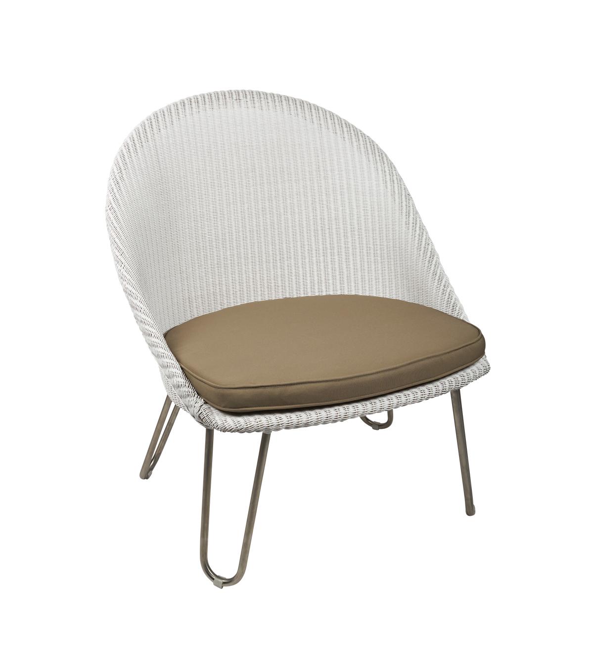 Lloyd loom fauteuil Bristol