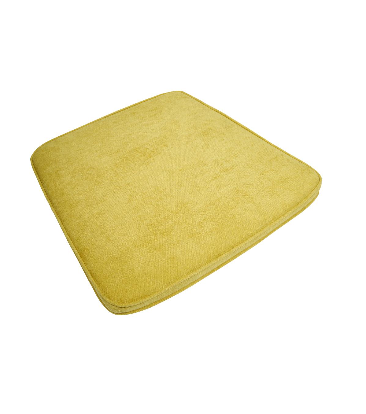 Kussen 3504 Citron Fluweel